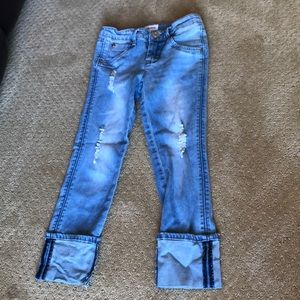 Hudson girls jeans.